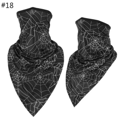 1PC Cooling Neck Gaiter Tube Scarf Face Cover Motorcycle Cycling Hunting Bandana