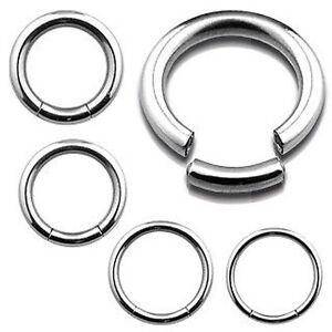 Surgical-Steel-Seamless-Segment-Ring-Hoop-Lip-Nose-Ear-Eyebrow-Belly