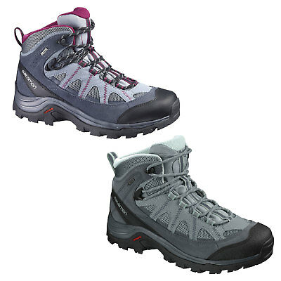 0723af5660a Salomon Authentic Leather Gore-Tex Women's Hiking Boots Outdoor Casual  Shoes | eBay