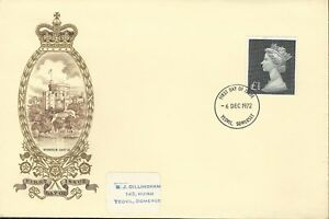 GB-QE11-1972-1-DEFINITIVE-ILLUS-FDC