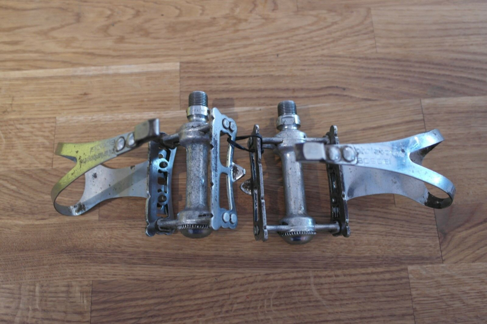 Campagnolo Vintage Pedals c w Christophe  Special Toe Clips  factory outlets