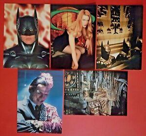 Set-of-5-Batman-Postcards-DC-Comics-Batman-Forever