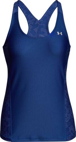 Under Armour Heatgear Fashion Femme Running Débardeur Tank Top-Bleu