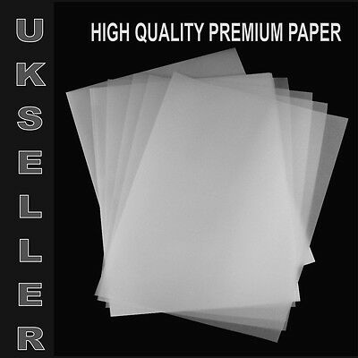 A4 TRACING PAPER 60 SHEETS PAD CREATIVE ART FUN LEARNING SCHOOL CALLIGRAPHYPAPER