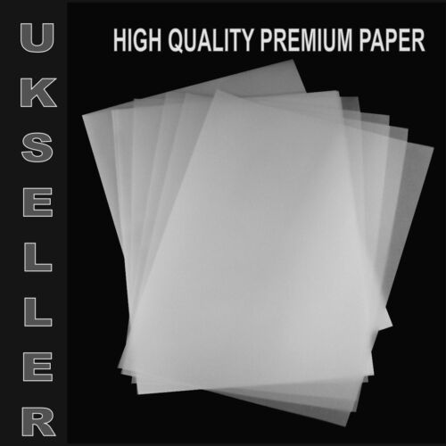 250 A4 TRANSLUCENT TRACING PAPER 95gsm FOR ART,CRAFT,COPYING OR CALLIGRAPHY ETC