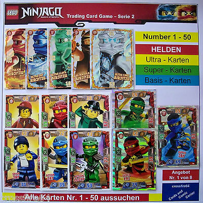 Lego® Ninjago™ Serie 2  XXL Karte Ultra Kai Airjitzu