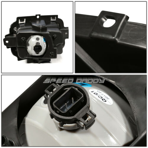 FOR 14-15 CHEVY SILVERADO 1500 CLEAR LENS BUMPER DRIVING FOG LIGHT LAMP W//SWITCH