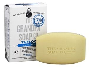 Grandpa-039-s-Face-amp-Body-THYLOX-Bar-Soap-Acne-Treatment-with-Sulfur-3-25-oz-92g