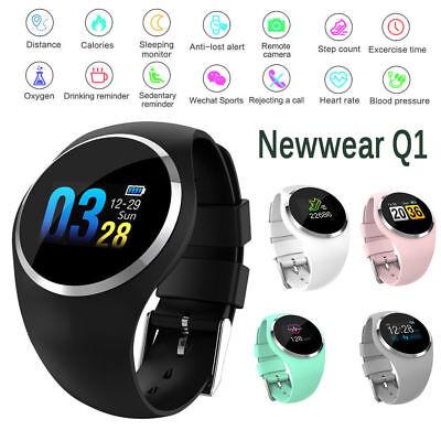 Intelligente contapassi orologio calorie Fitness sport Bluetooth Braccialetto qO168