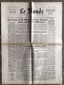 N67-La-Une-Du-Journal-Le-Monde-7-Aout-1974