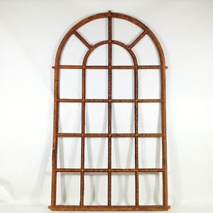 961A Cast Iron Window 163 x 93 cm Loft Orangery Barn Window Industrial Design