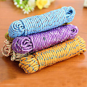 10m-Multifunction-Nylon-Washing-Clothes-Line-Rope-Clothesline-String-yb