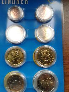 finlande 2012 série 8 pièces neuves sous capsules