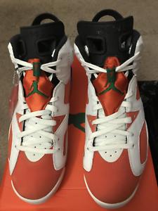 dbeb95ed5dd6ab Nike Air Jordan 6 VI Retro Gatorade Summit White Orange 384664-145 ...