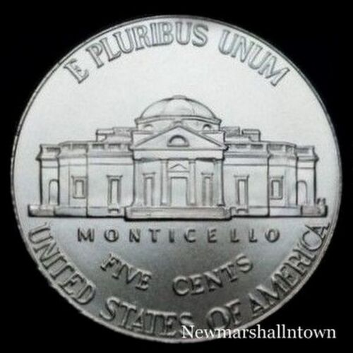 Coin from Bank Roll 2006 D Jefferson Nickel ~ Uncirculated U.S