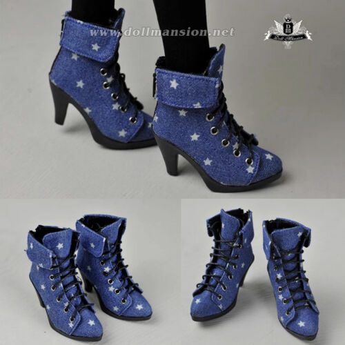 1//3 BJD Shoes Supper Dollfie MID Luts AOD EID SD Boots Shoes Star High heels 374