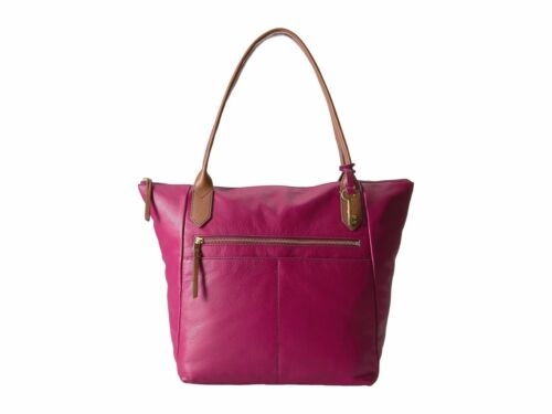 New Fossil Women/'s Fiona Leather Totes Variety Colors