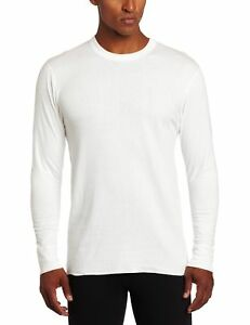 Medium White Duofold Boys Base Weight First Layer Shirt