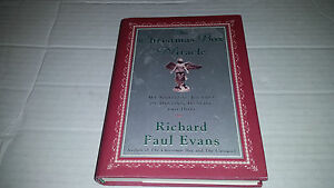 The Christmas Box Miracle by Richard Paul Evans (2001, Hardcover) SIGNED 1st/1st 9780743219426 ...