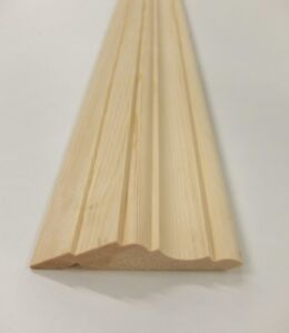 Details About Solid Pine Kitchen Cornice 18m 95x21mm Units Trim Moulding Wooden Timber Mould