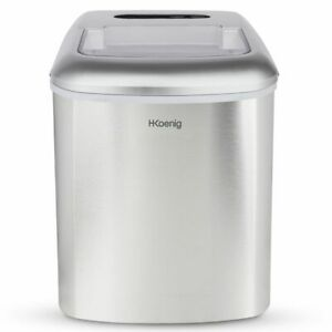 HKoenig-Eiswuerfelmaschine-12kg-Eiswuerfel-Produktionszeit-6-13-Min-3-Groess-150-W