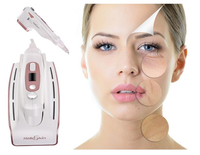Salon Home Use HIFU Machine Face Lifting Anti-wrinkle Skin Rejuvenation  Portable