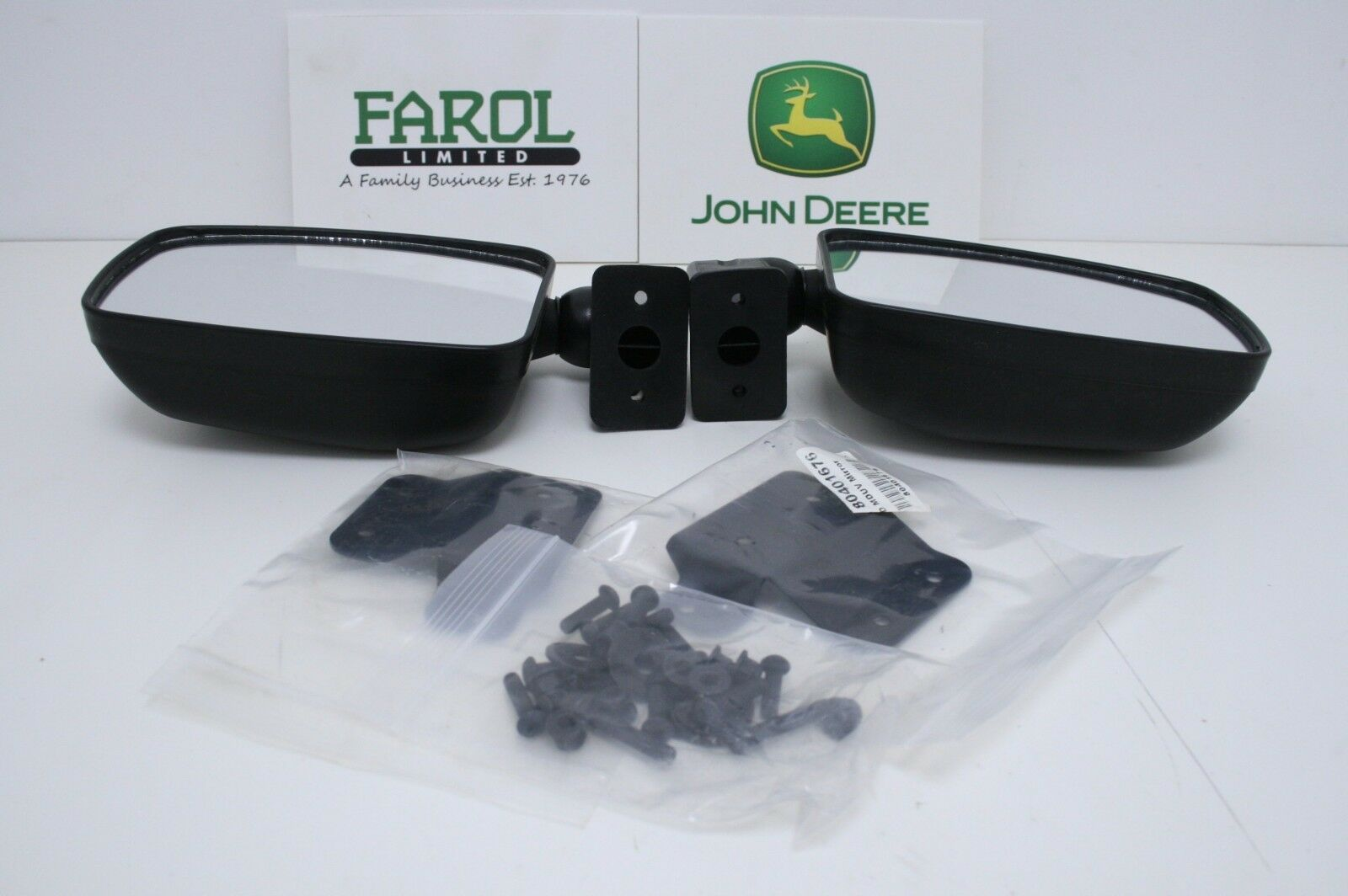 Genuine John Deere Gator Mirror Kit BM24796 RSX860i RSX850i XUV550