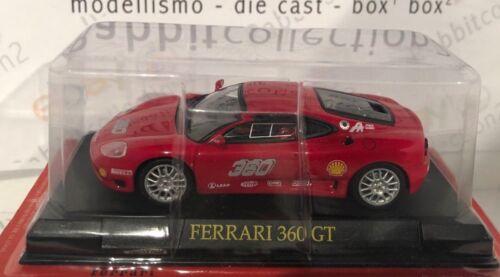"DIE CAST /"" FERRARI 360 GT /""  SCALA 1//43"