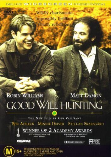 1 of 1 - GOOD WILL HUNTING DVD ROBIN WILLIAMS MATT DAMON ***
