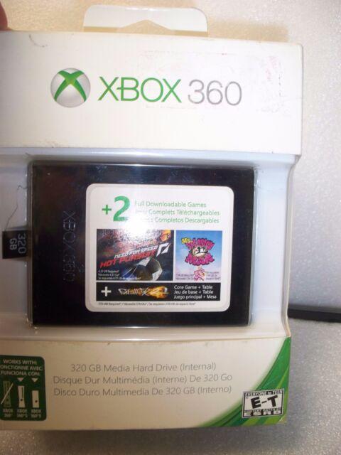 Microsoft XBOX 360 -  320GB Media Hard Drive (Internal) for S & E Consoles,