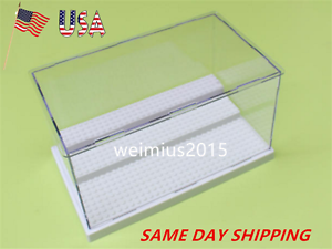 White For Lego Minifigures Collectors Display Storage Case Box Hold Up To 35