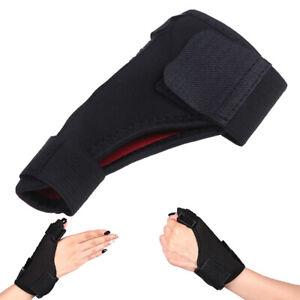 1-Daumenschutz-Brace-Guard-Einstellbare-Hand-Wrist-Wrap-Verstauchungen-S-C-W