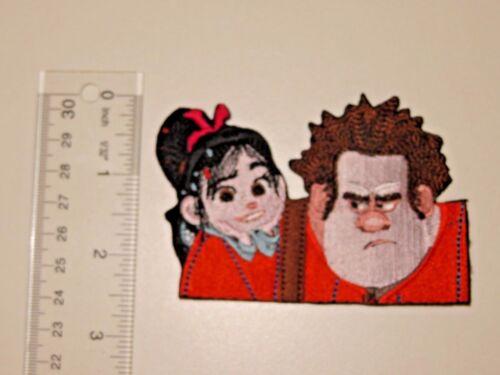 Disney Wreck It Ralph Vanellope Von Schweetz Embroidered No Sew Applique Patch