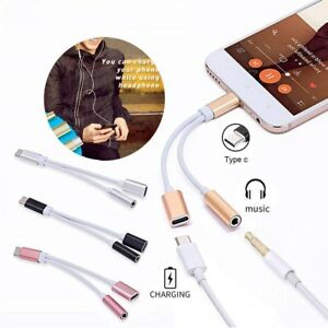 USB-C-Type-C-To-3-5mm-Audio-Aux-Headphone-Jack-Charging-Cable-For-Phones