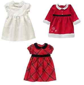 83ef9a168b448 Image is loading Gymboree-Baby-Girls-Holiday-Christmas-Dress-Outfit-Choose-