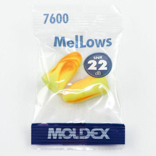 FREE UK P/&P 40 Moldex Mellows 7600 Ear Plugs