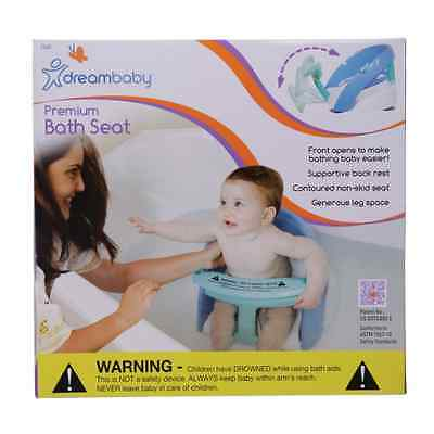 New Dreambaby Premium Deluxe Baby Safety Bath Seat Dream Blue