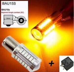 Bombillas-intermitente-LED-Canbus-BAU15S-PY21W-Rele-para-evitar-Hyperflash