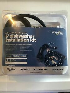Details About Genuine 8212488rc Universal Whirlpool Maytag Amana Dishwasher Installation Kit