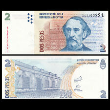 Argentina 2 Pesos 2012 UNC P 352 Serie L