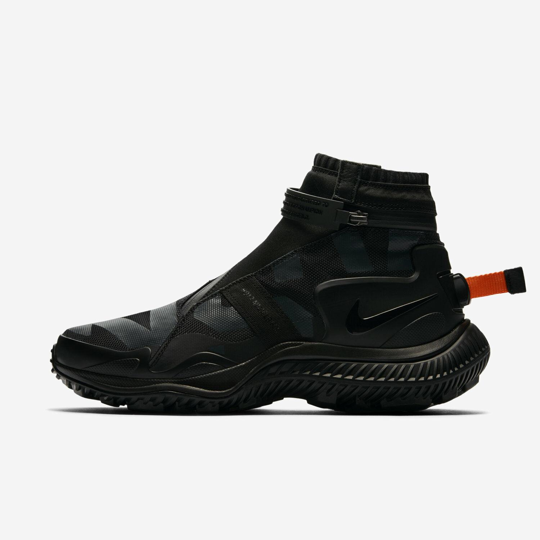 Nike Nikelab NSW Gaiter Boot Men's Size 10.5 Black Anthracite AA0530 001