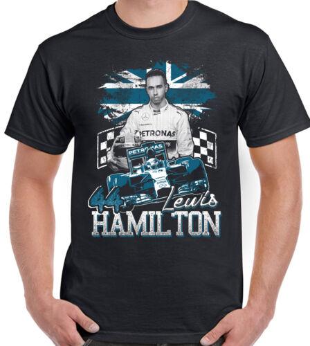 Mens Lewis Hamilton Tribute Fan T-Shirt Design 2