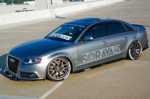 Audi A4//S4//RS4//B8//B8.5//A5 Side Skirt Lip Extensions Enforced Aero CHEAP!