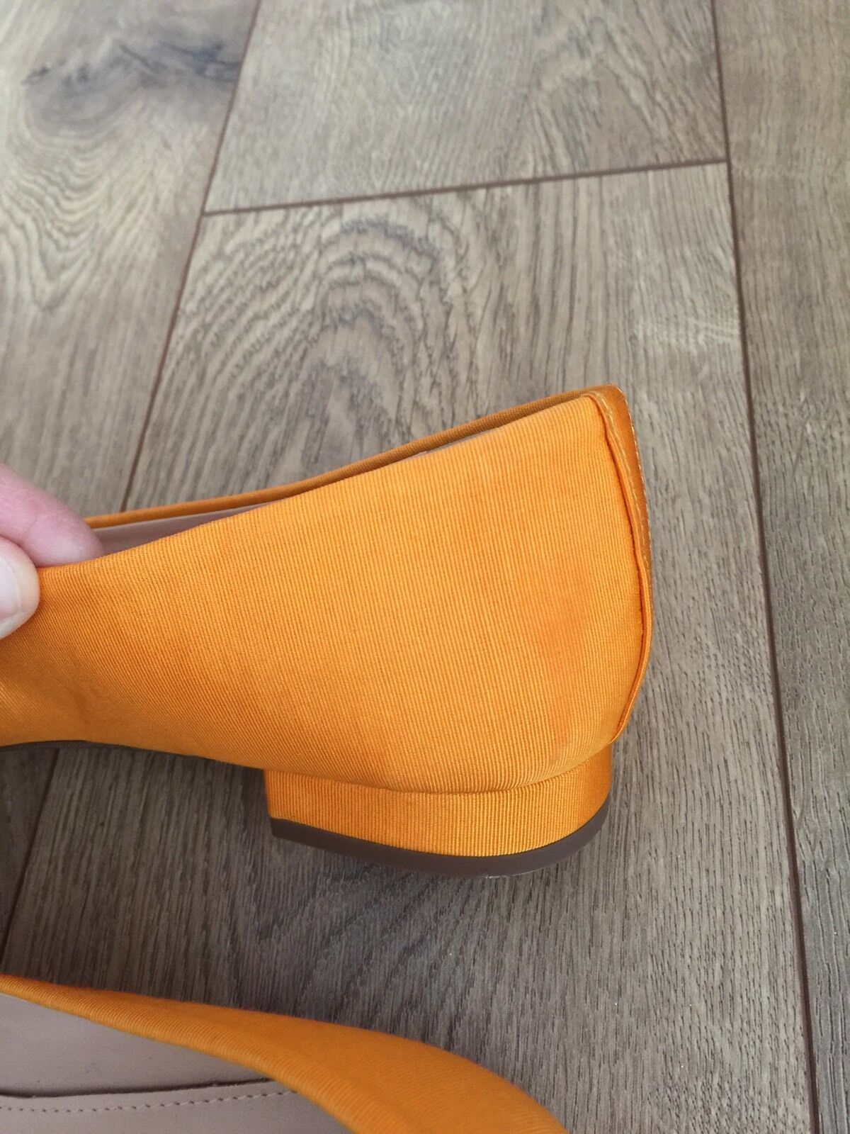 New JCrew Embroiderouge Embroiderouge Embroiderouge Pointed-Toe Flats 7 Tangelo F7987 jaune Floral NEW 14cb0f