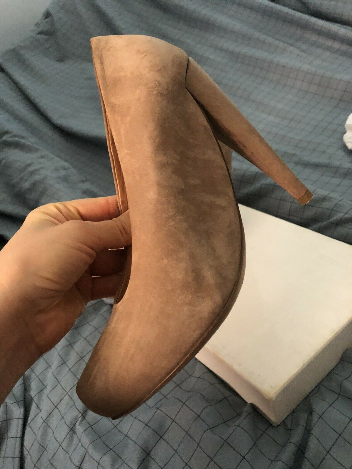Maison Martin Margiela High Heel Leather Shoes Si… - image 7