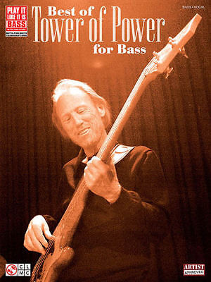 Tower Of Power Best Of Play It Like It Is Bass Tab Book NEW!