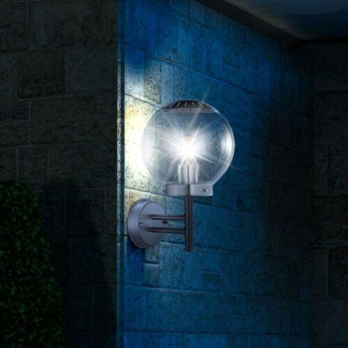 Luxus LED Wandlampe Außenbeleuchtung 7 Watt Ø 20 cm Garten Balkon Licht sparsam