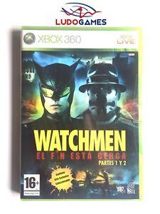 Watchmen-Xbox-360-Neuf-Scelle-Scelle-Produit-Nouveau-Pal-Spa