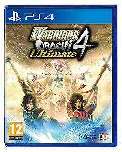 Warriors-Orochi-4-Ultimate-PS4-Neuf-Scelle