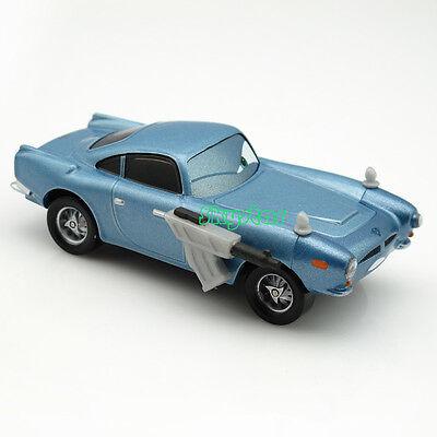 1:55 Disney Pixar Cars 2 Diecast Finn Mc Missile With Gun Matel Car Model KidToy